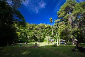 Der Campground des Montagne d'Ambre