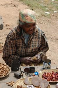 Merina-Frau aus dem Hochland Madagaskars