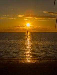 Sonnenuntergang in der Bucht von Ranobe