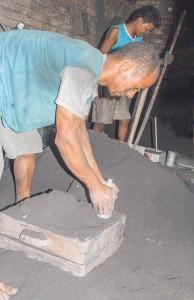 Die Form ist fertig für das flüssige Metall