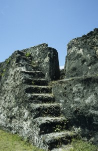 Stairs inside the Fort