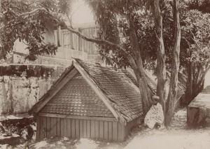 Andrianjakas Grab auf dem Hügel Ambohimanga