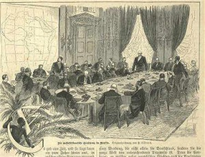 Congo conference in 1885 - Europe decides about other countries, among those Madagascar