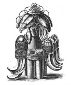 Ein Sampy aus dem Museum der London Missionary Society