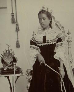 Ranavalona III. im Exil