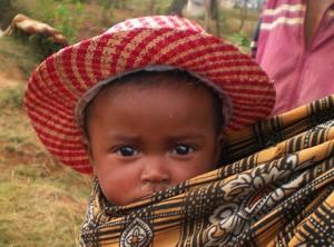Baby auf Madagaskar