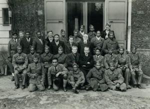 befreite madagassische Soldaten 1945