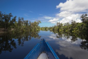 Canal des Pangalanes mit Boot