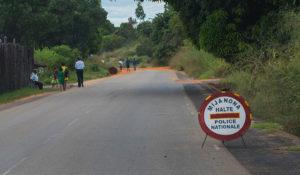Straßenkontrolle Polizei