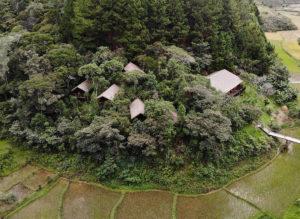 Anjozorobe Bungalows der Saha Forest Lodge