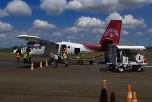 Flugzeug Air Madagascar in Toamasina