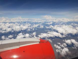 Flugzeug Langstreckenflug
