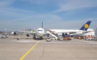 Flugzeug Lufthansa